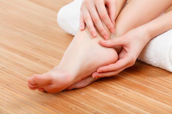 ¿Sudoración en los pies?