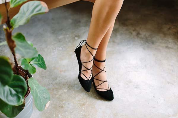Aprende a usar zapatos planos para distintas ocasiones