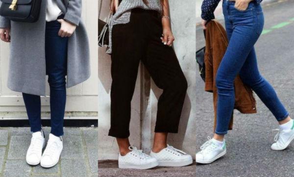 razones para tener zapatillas blancas en tu armario