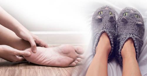 problemas de pies en invierno